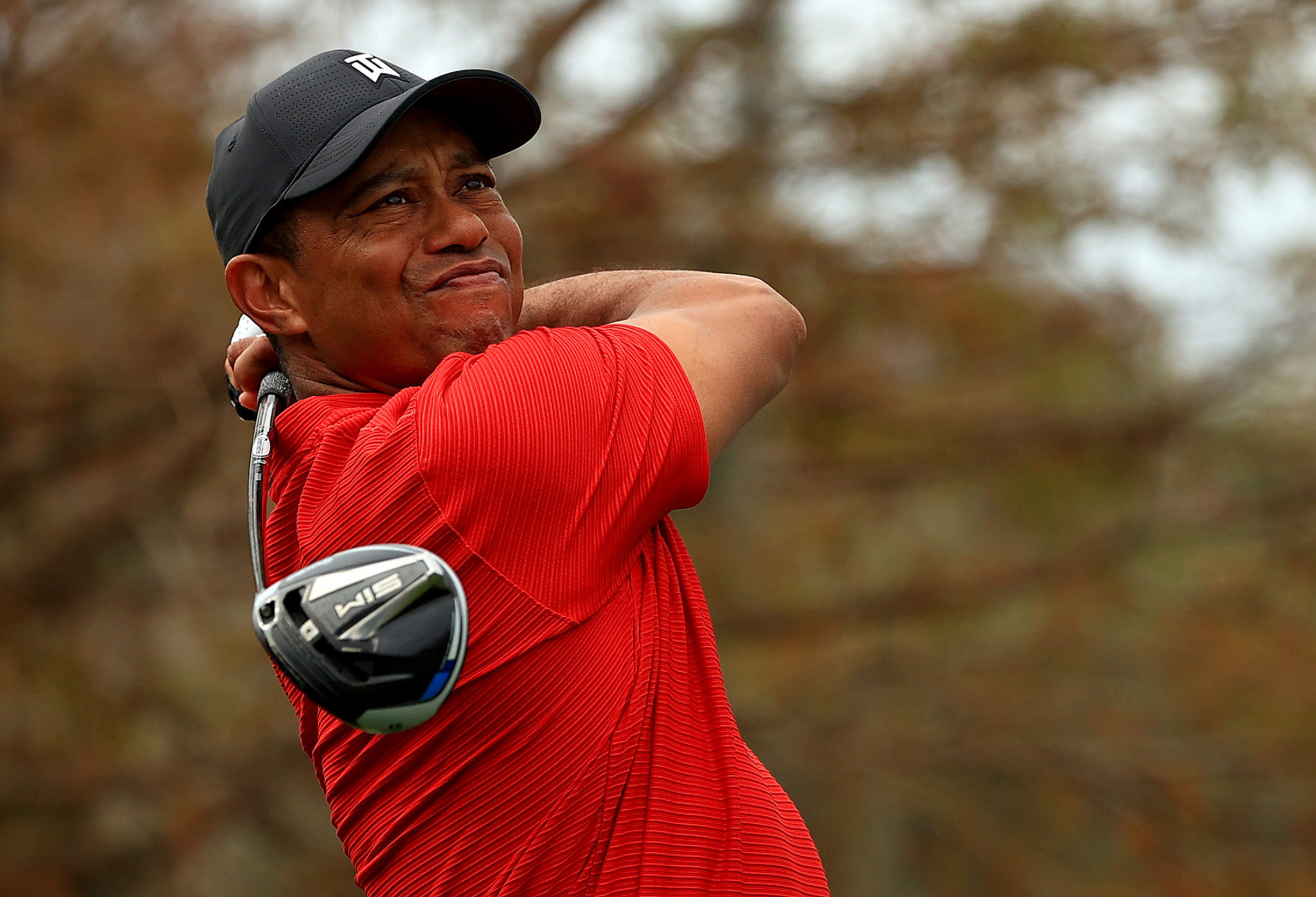 Tiger Woods in hospital with leg injuries following car crash
