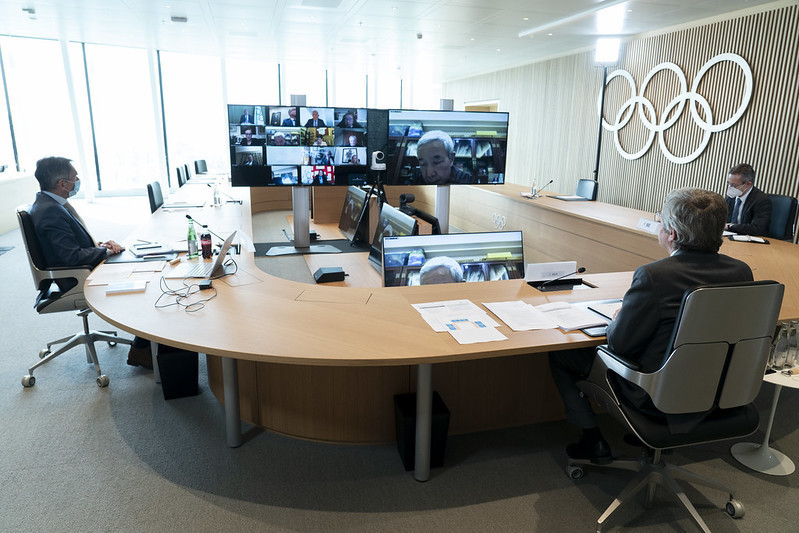 The IOC Executive Board confirmed Queensland as its preferred bidder for the 2032 Olympics ©IOC