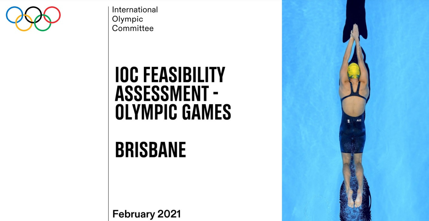 The IOC Future Host Commission waxed lyrical about Brisbane's merits before its proposal to the Executive Board ©IOC