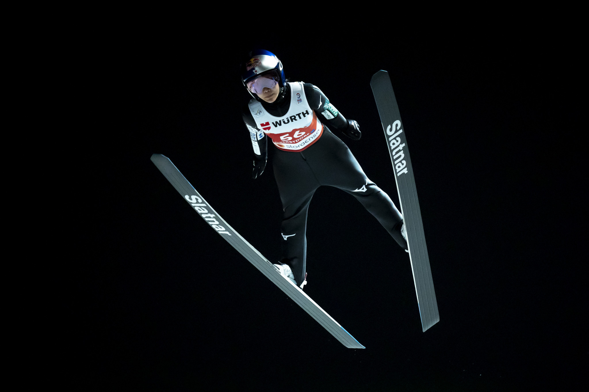 Japan's Sara Takanashi topped normal hill qualification today ©Getty Images