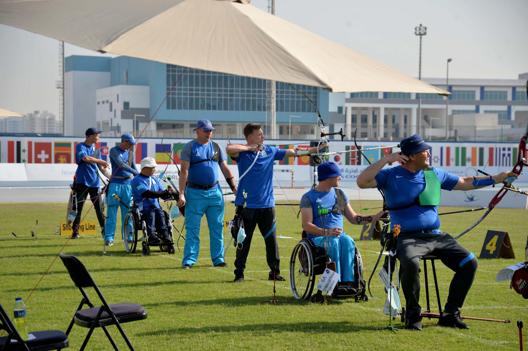 The seventh Fazza Para Archery World Ranking Tournament is underway ©Gaber Abedeen/Fazza LOC Media