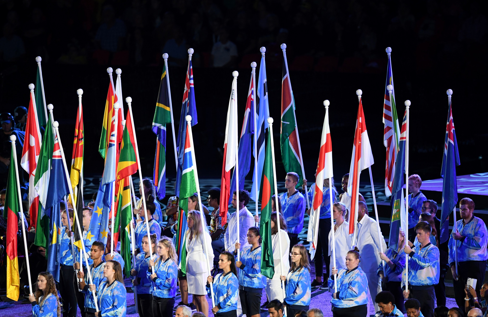 A huge range of countries and territories compete at the Commonwealth Games ©Getty Images
