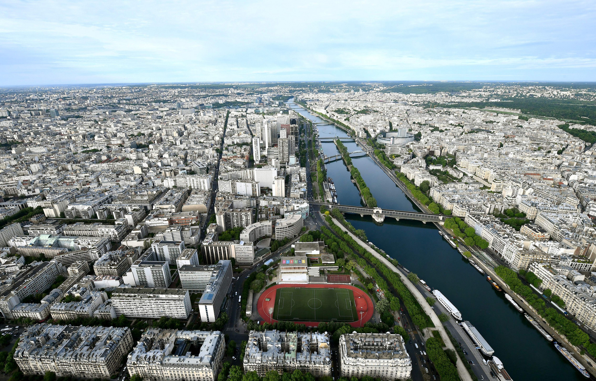 Arthur Germain-Hidalgo is set to swim the length of the River Seine from June 6 to July 28 ©Getty Images