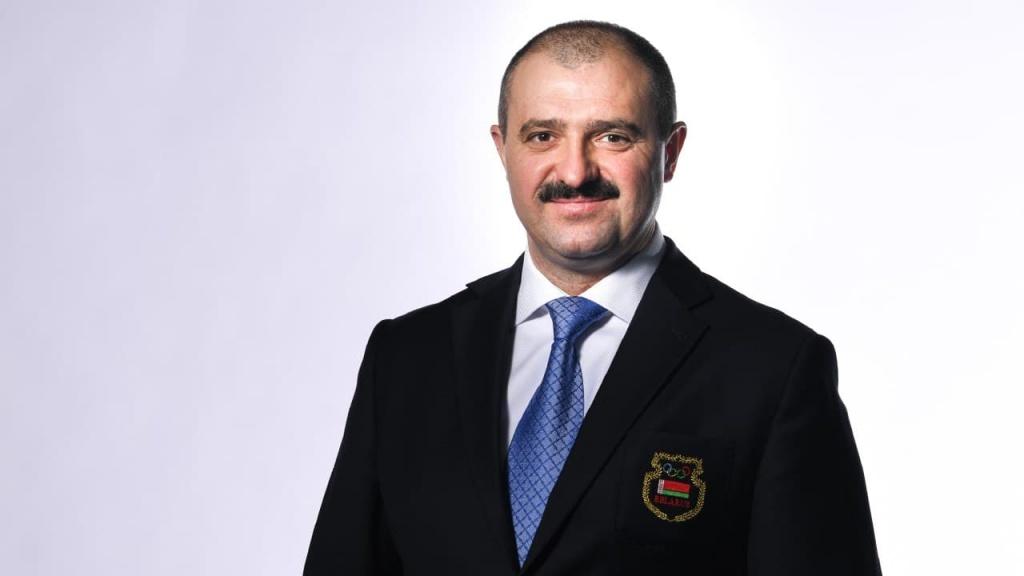 Viktor Lukashenko has been named NOC Belarus President ©NOC Belarus