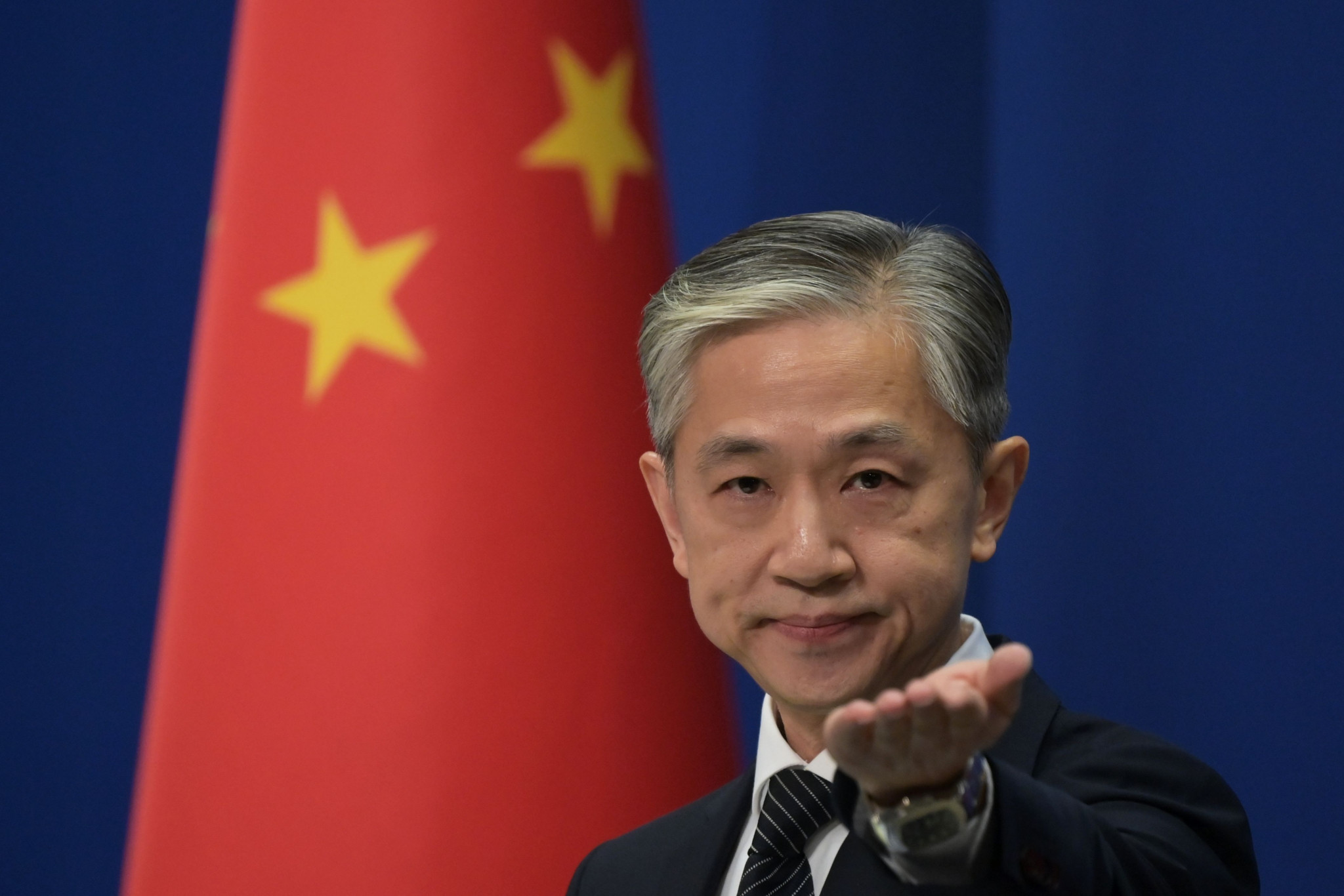 Chinese Foreign Ministry spokesperson Wang Wenbin has said genocide claims are a