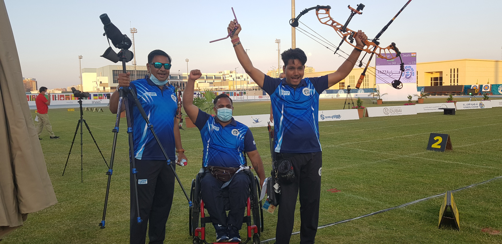 Russia claim two golds on final day to top medal table at Fazza Para Archery World Ranking Tournament