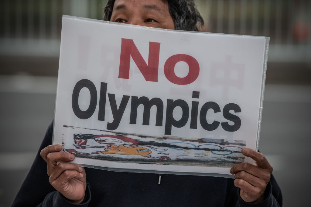 Public support in Japan for the Tokyo 2020 Olympics and Paralympics has been declining in recent months ©Getty Images
