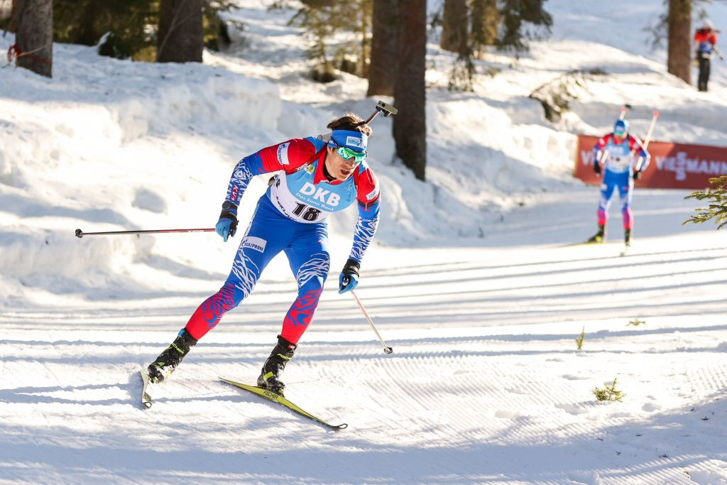 Russian athletes at the recent Biathlon World Championships wore a uniform featuring the colours of the country's flag ©Getty Images
