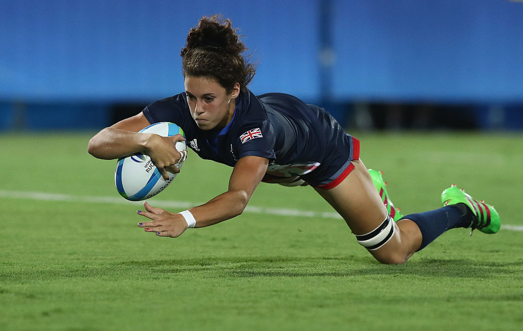 GB Sevens' women's squad working towards Tokyo 2020 includes Rio 2016 Olympian Abbie Brown ©Getty Images
