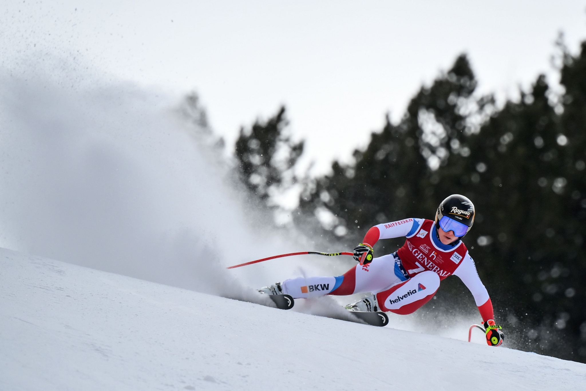 Lara Gut-Behrami now has a lead of more than 100 points in the overall World Cup standings ©Getty Images