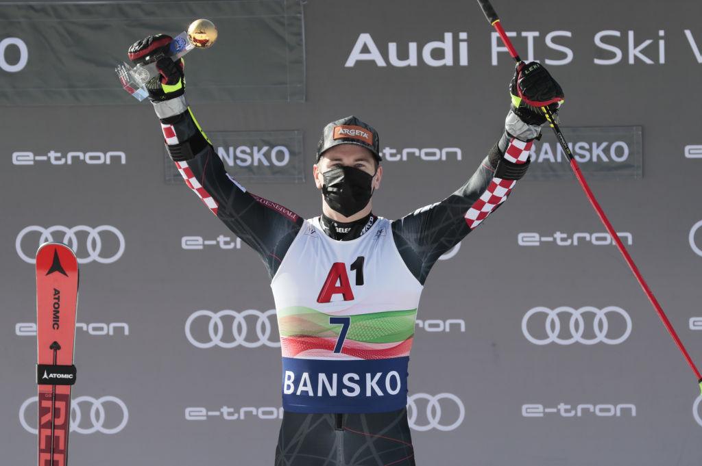 World giant slalom champion Faivre second behind Zubčić at FIS Alpine Ski World Cup in Bansko