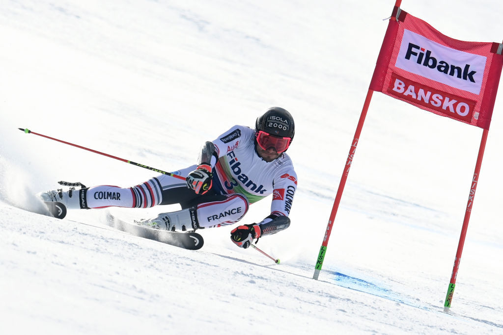 Mathieu Faivre won the second giant slalom of the weekend in Bansko ©Getty Images