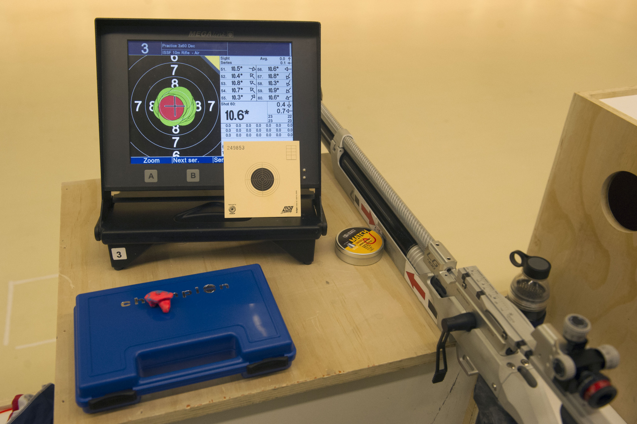 Last Paralympic shooting qualifier Lima World Cup delayed until June