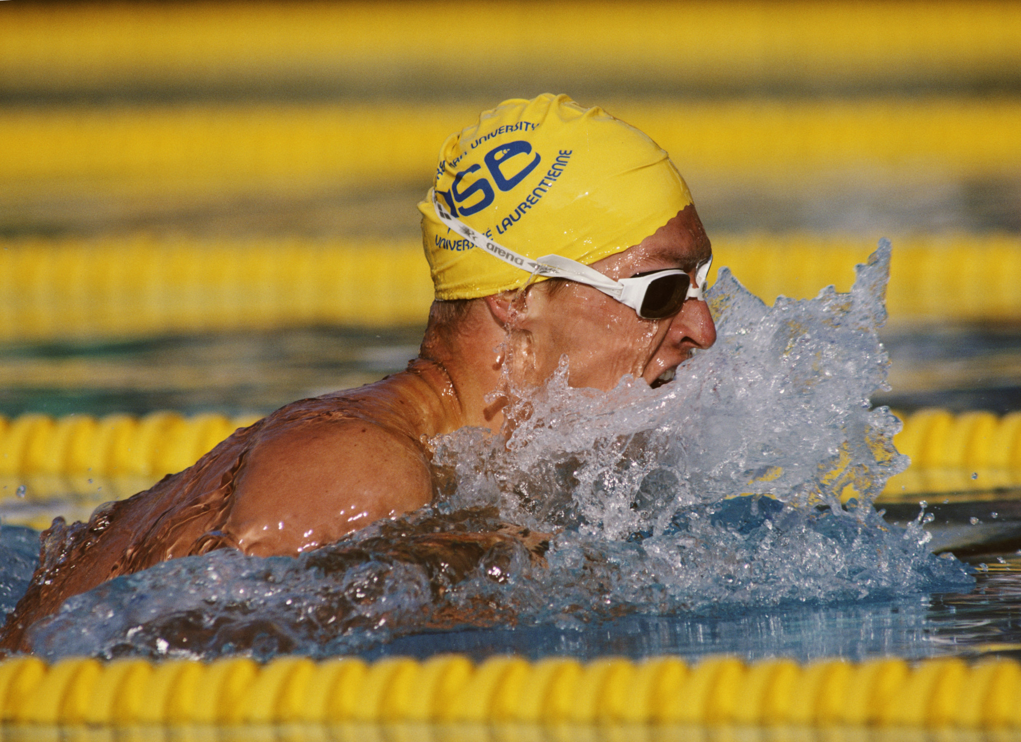 Alex Baumann won both the 200m and 400m individual swimming titles at the Los Angeles 1984 Olympic Games ©Getty Images