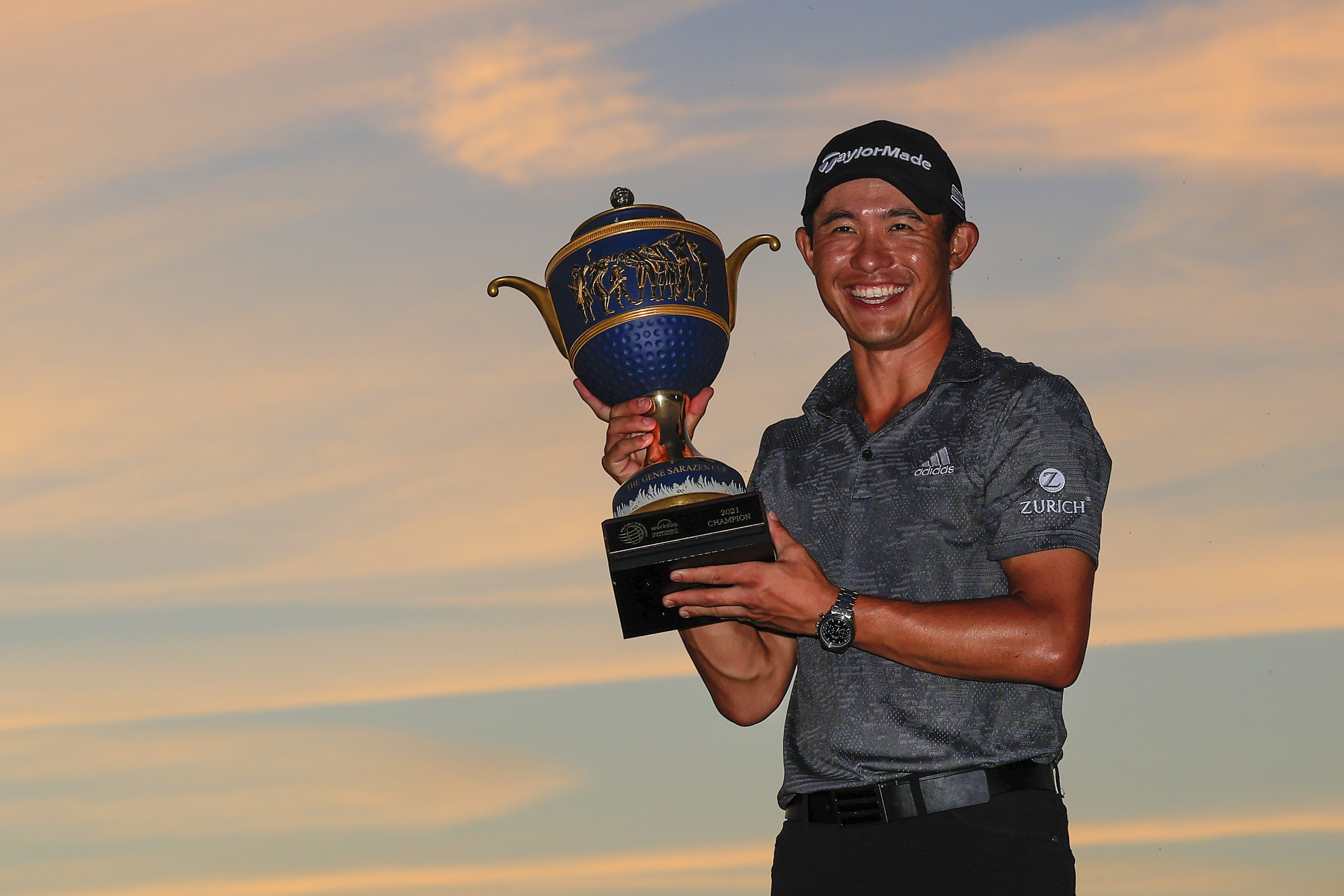 Morikawa joins elite company with three-shot WGC-Workday Championship win