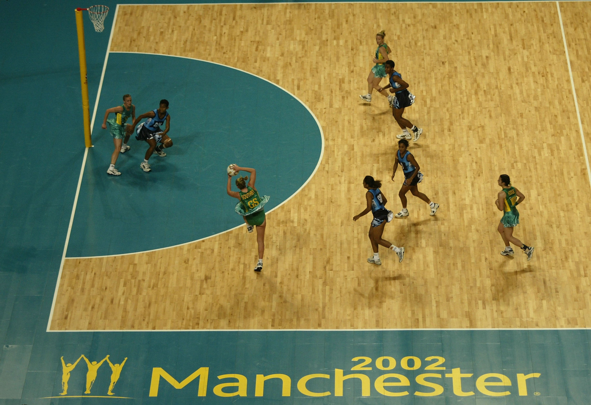 The 2002 Commonwealth Games in Manchester were pivotal to the city's regeneration ©Getty Images