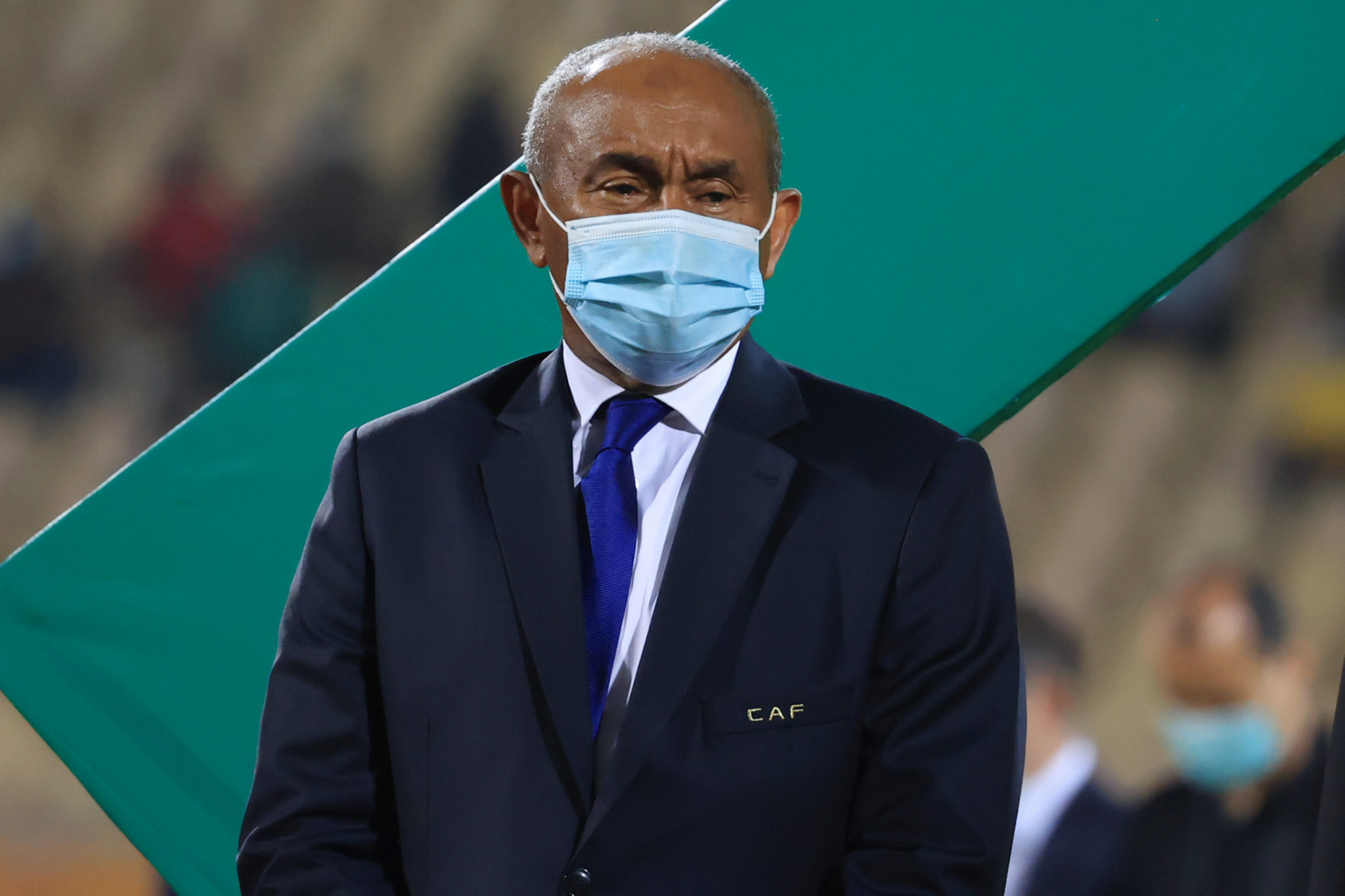 Ahmad was temporarily reinstated as CAF President in January ©Getty Images
