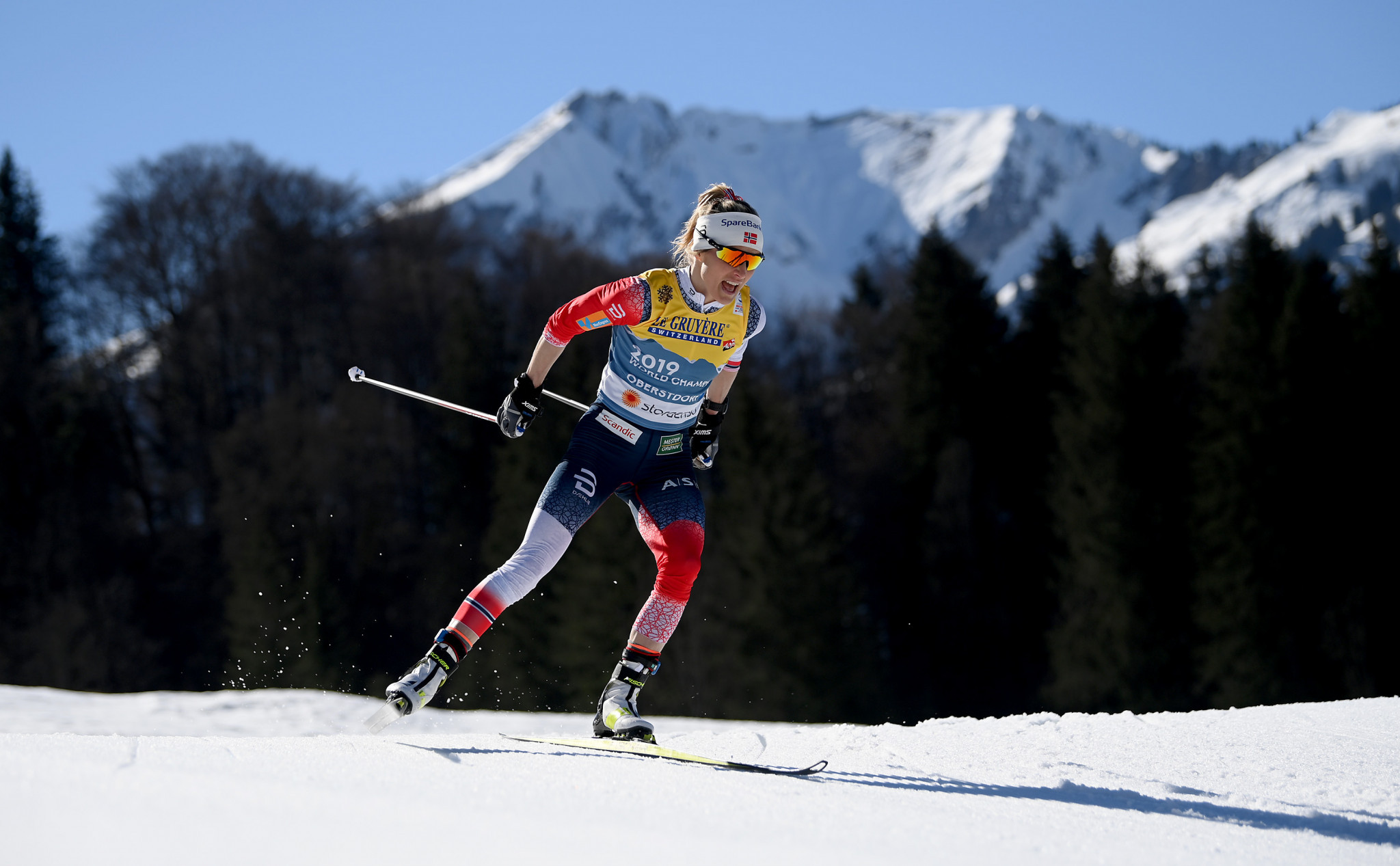 Johaug cruises to 10km cross-country title defence at Nordic World Ski Championships