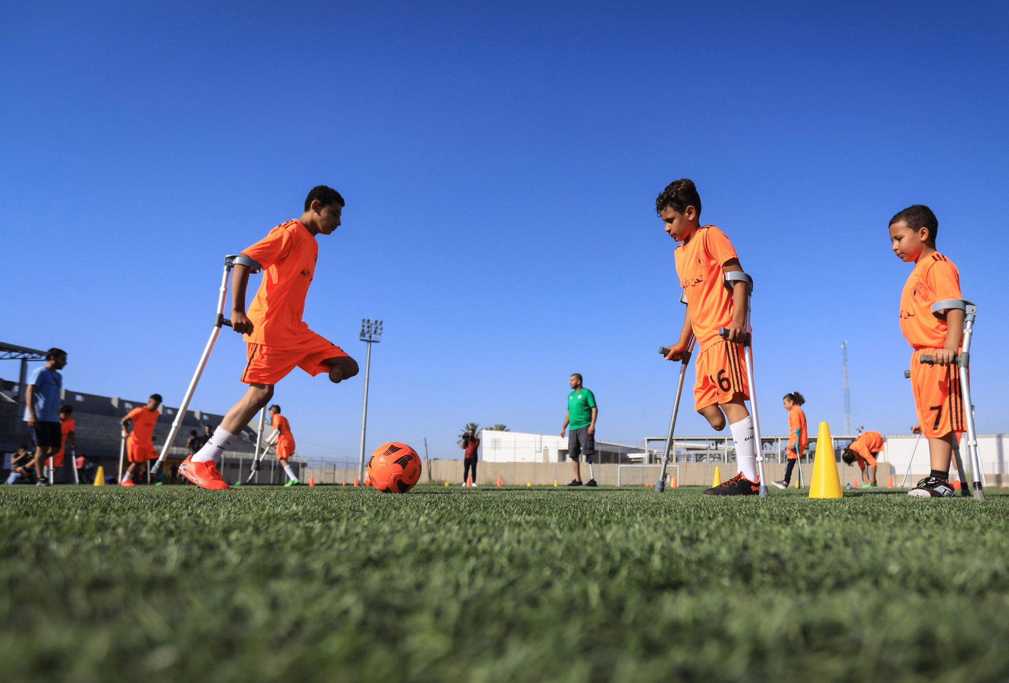 Para Football hopes other nations will follow Japan Inclusive Football Federation's lead ©Getty Images