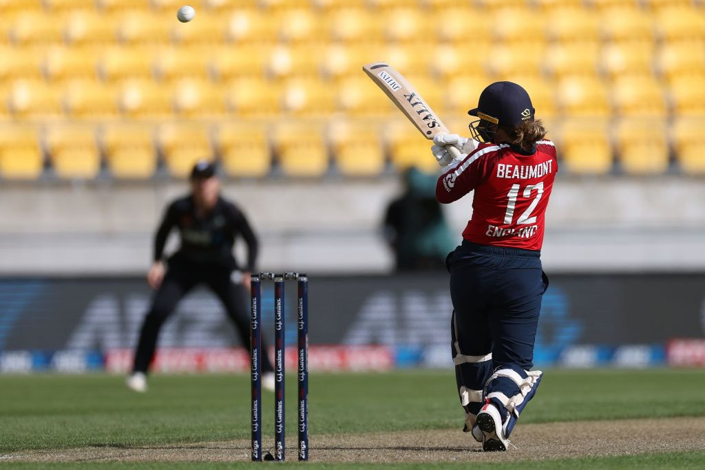 Tammy Beaumont has been in superb form during England's limited-overs series in New Zealand ©Getty Images