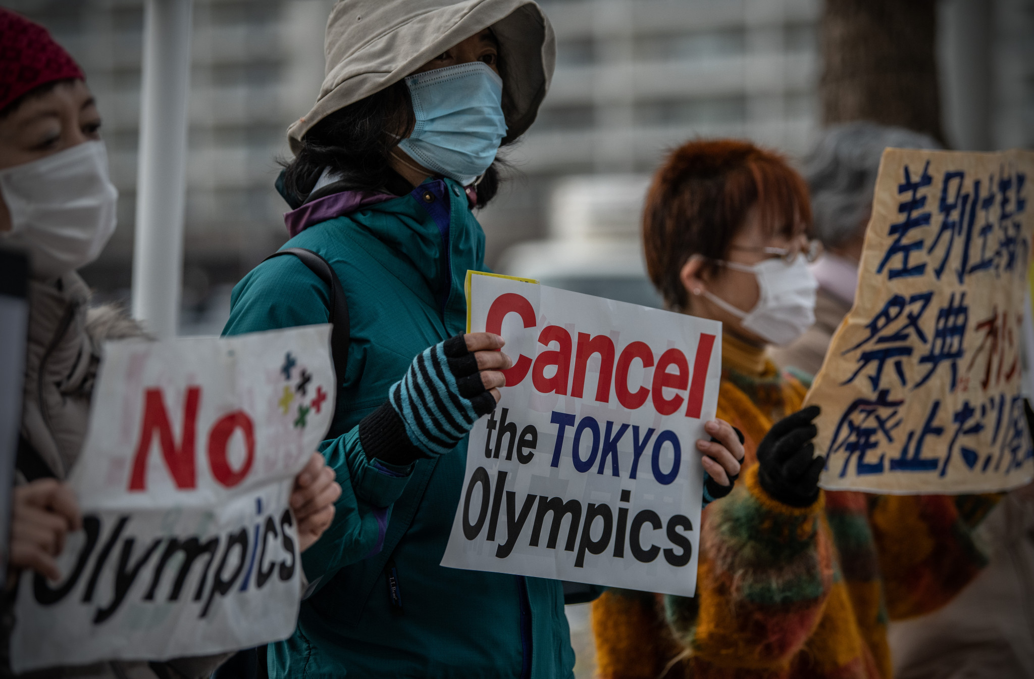 Tokyo 2020 organisers have faced opposition from Japanese citizens ©Getty Images