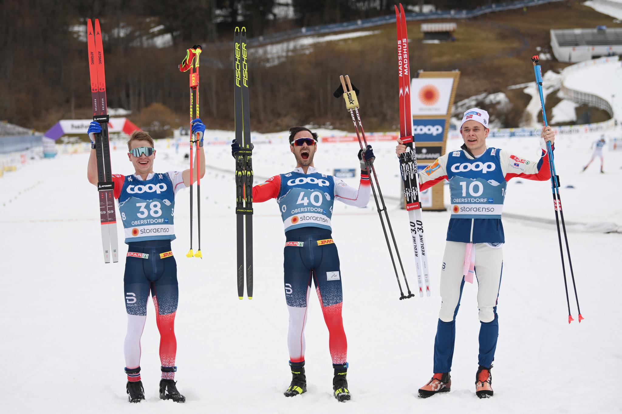 Holund and Lundby produce more Norwegian joy at Nordic World Ski Championships