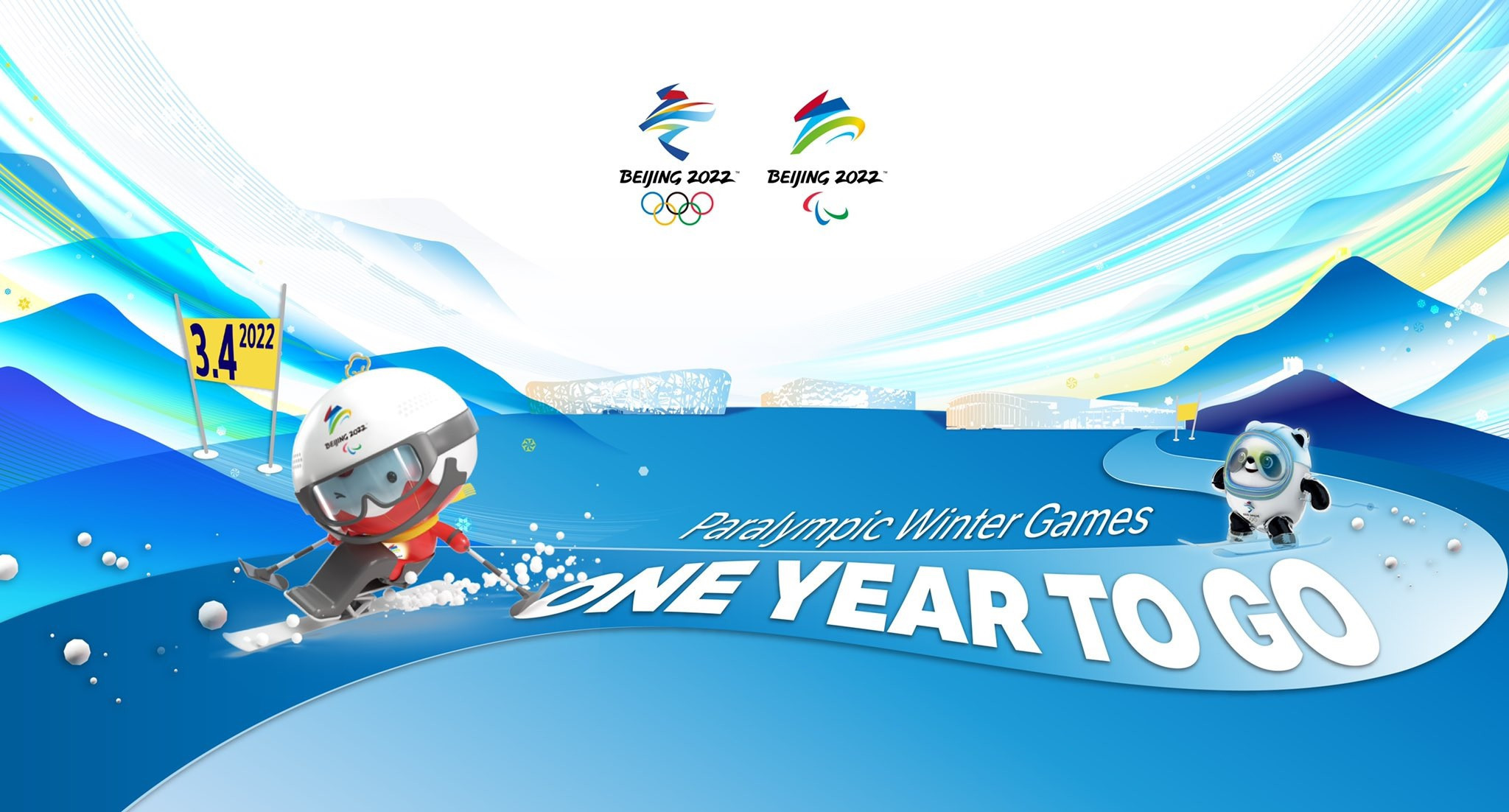 Organisers upbeat as one-year countdown to Beijing 2022 Winter Paralympics begins
