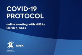 European Universities Games COVID-19 protocols presented to members