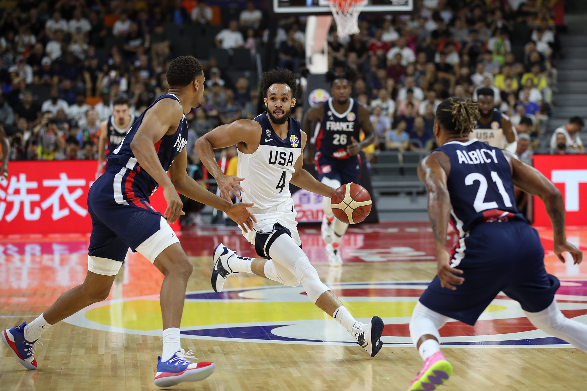 The United States are set to meet France on the opening day of the men's basketball tournament at Tokyo 2020 ©Getty Images