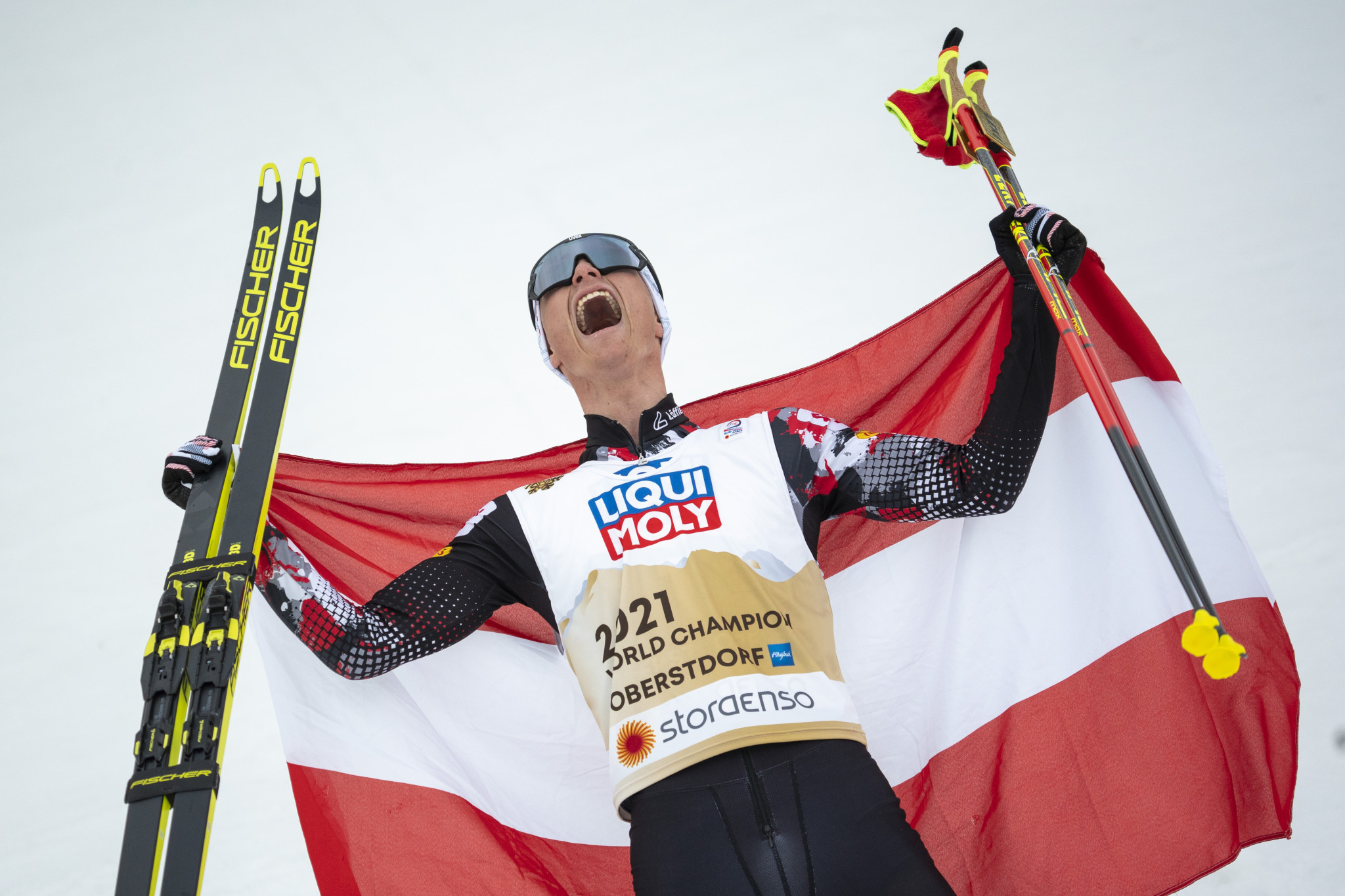 Lamparter claims stunning Nordic combined gold at Nordic World Ski Championships