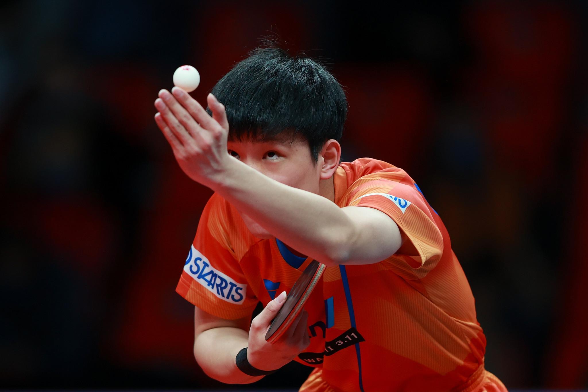 Harimoto and Ito through to WTT Contender Doha quarter-finals