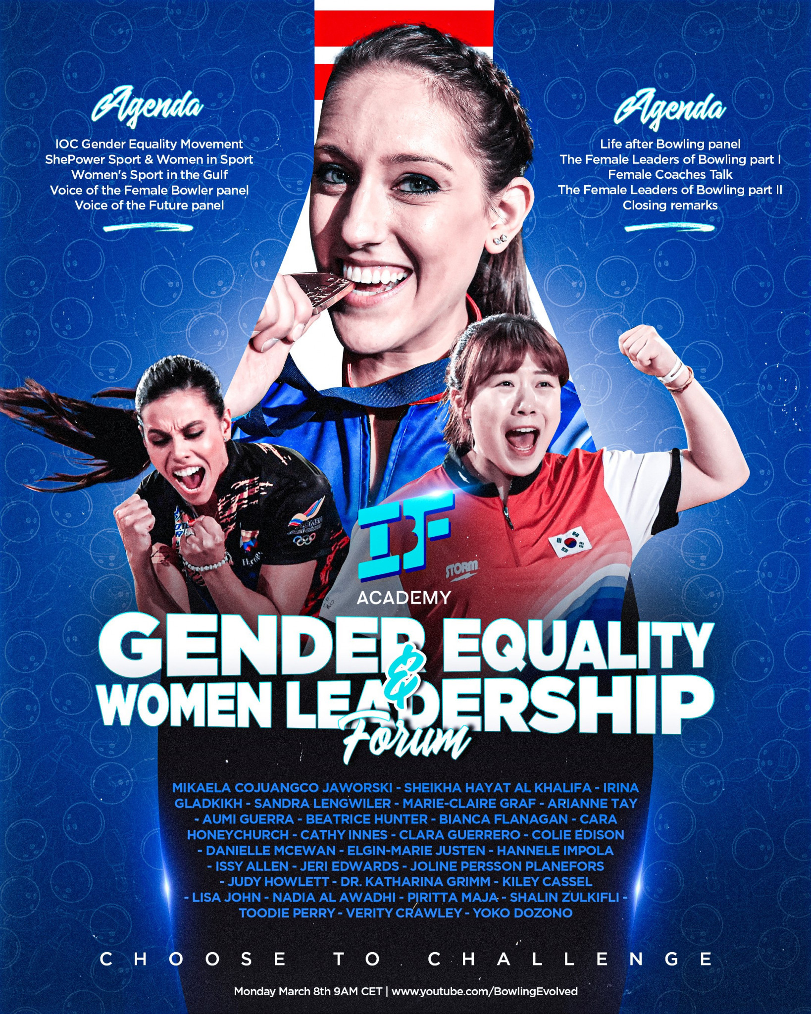 IBF is set to host a Gender Equality and Women Leadership Forum ©IBF