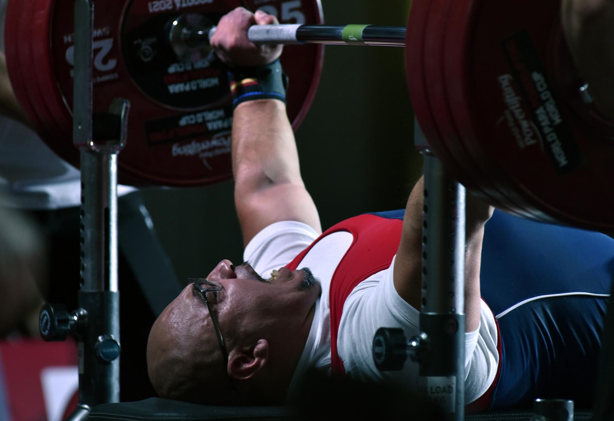 Lima 2019 champion Garrido among World Para Powerlifting World Cup winners