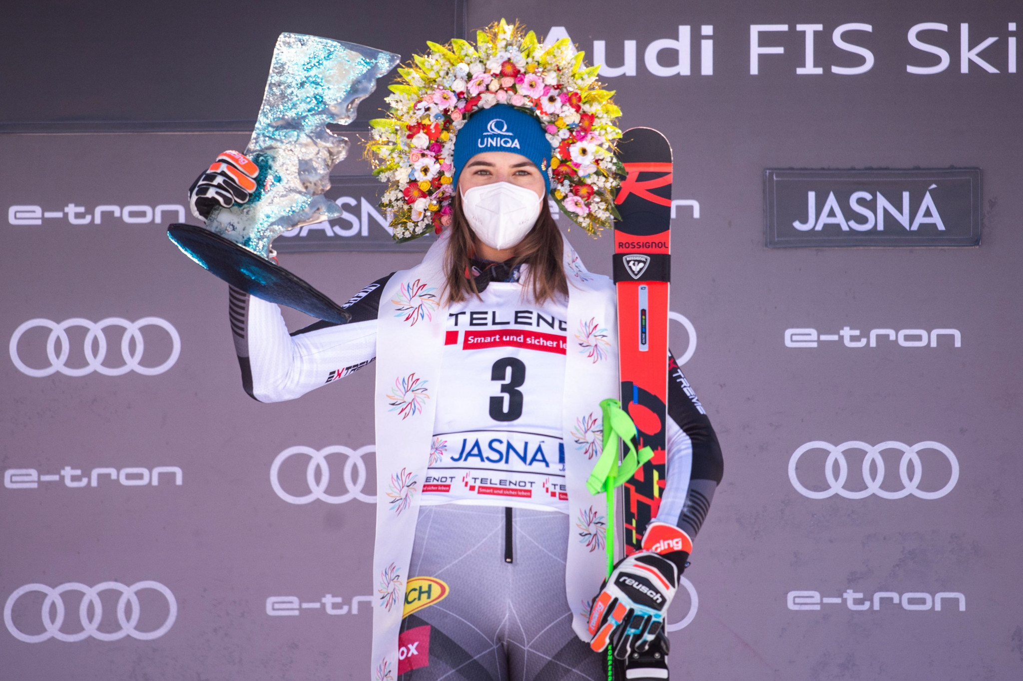Vlhová returns to winning ways on home snow and cuts gap to World Cup leader Gut-Behrami