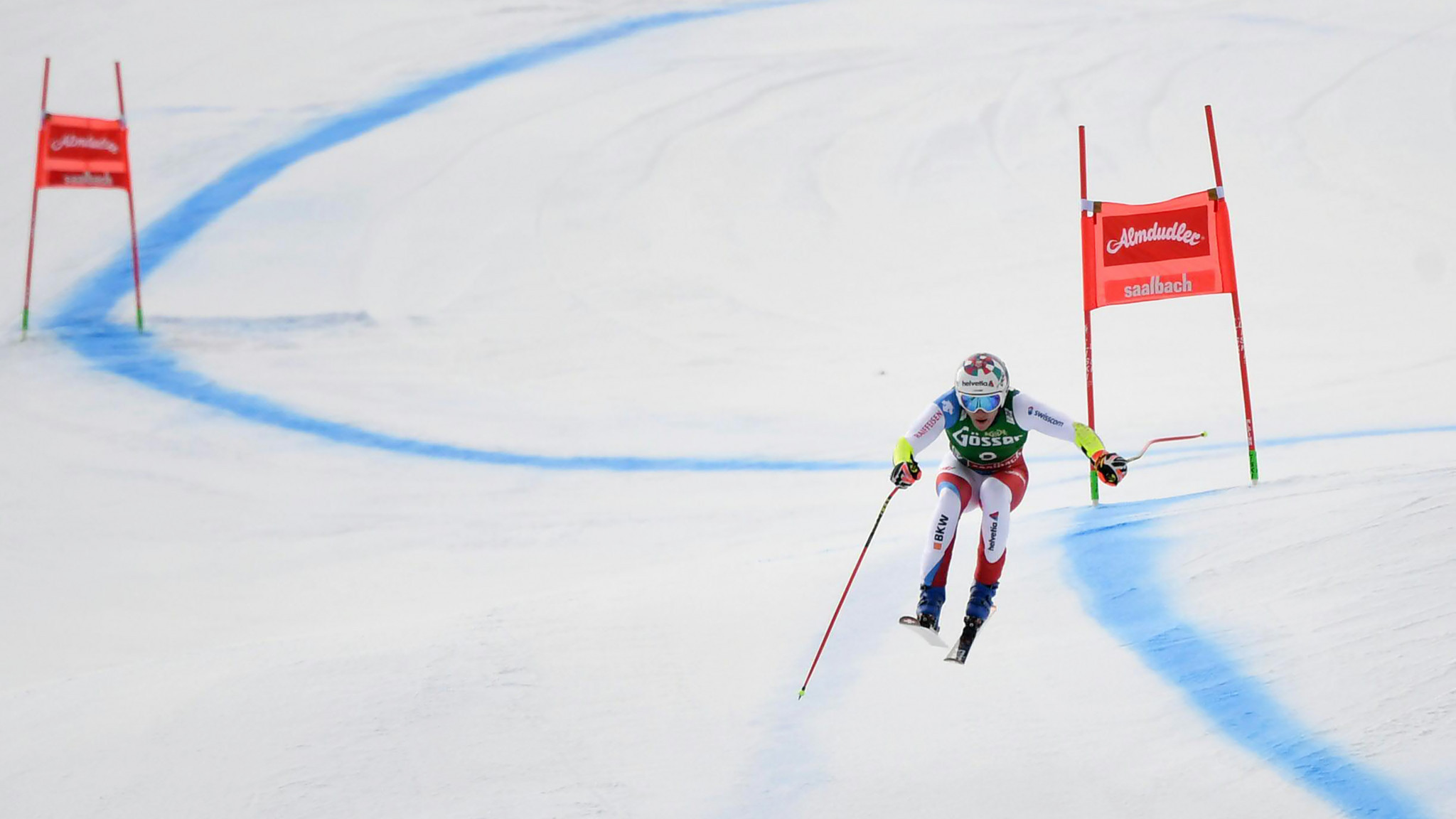 Odermatt boosts FIS Alpine Skiing World Cup hopes with super-G win in Saalbach