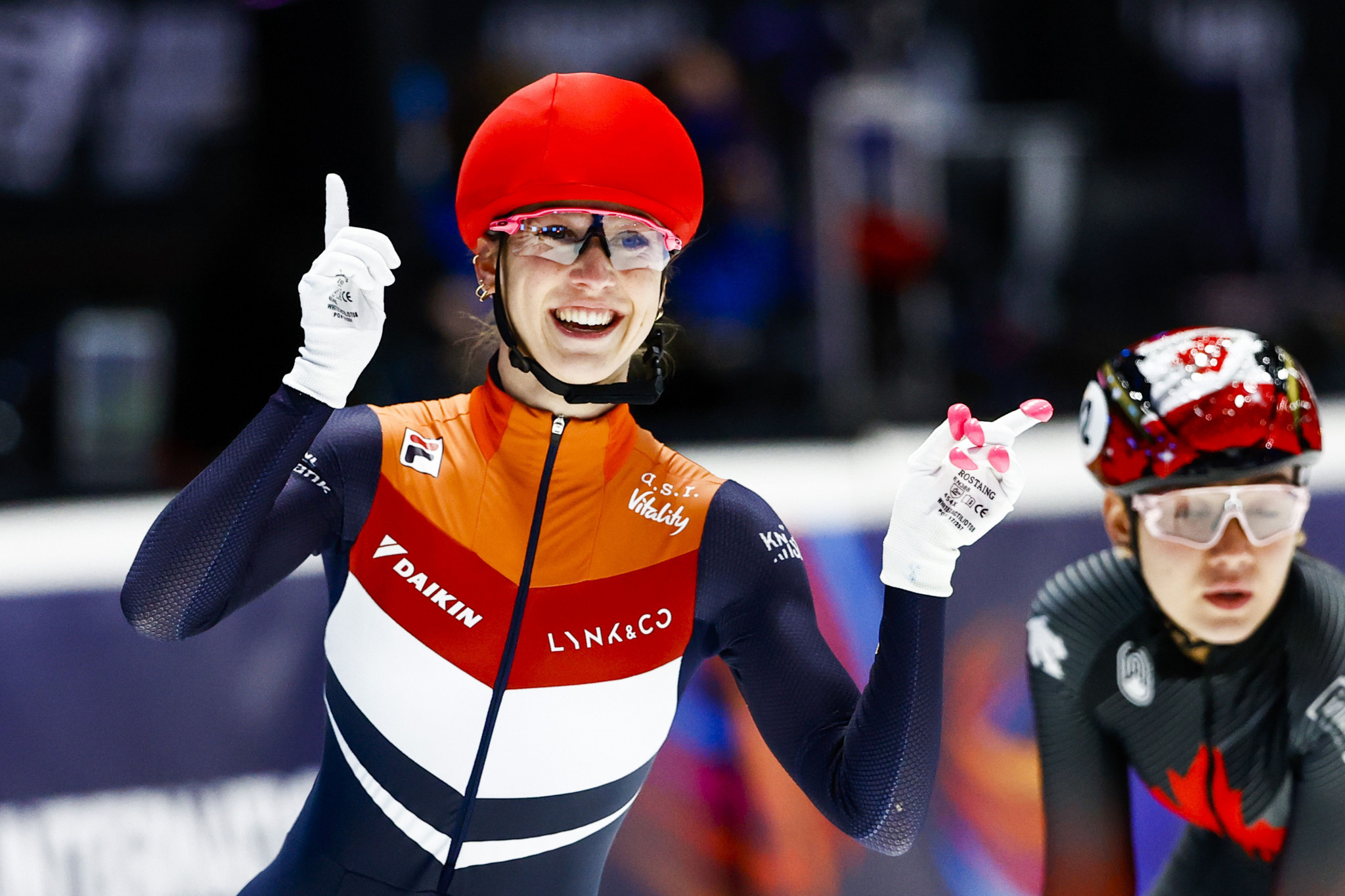 Schulting completes domination at World Short Track Speed Skating Championships