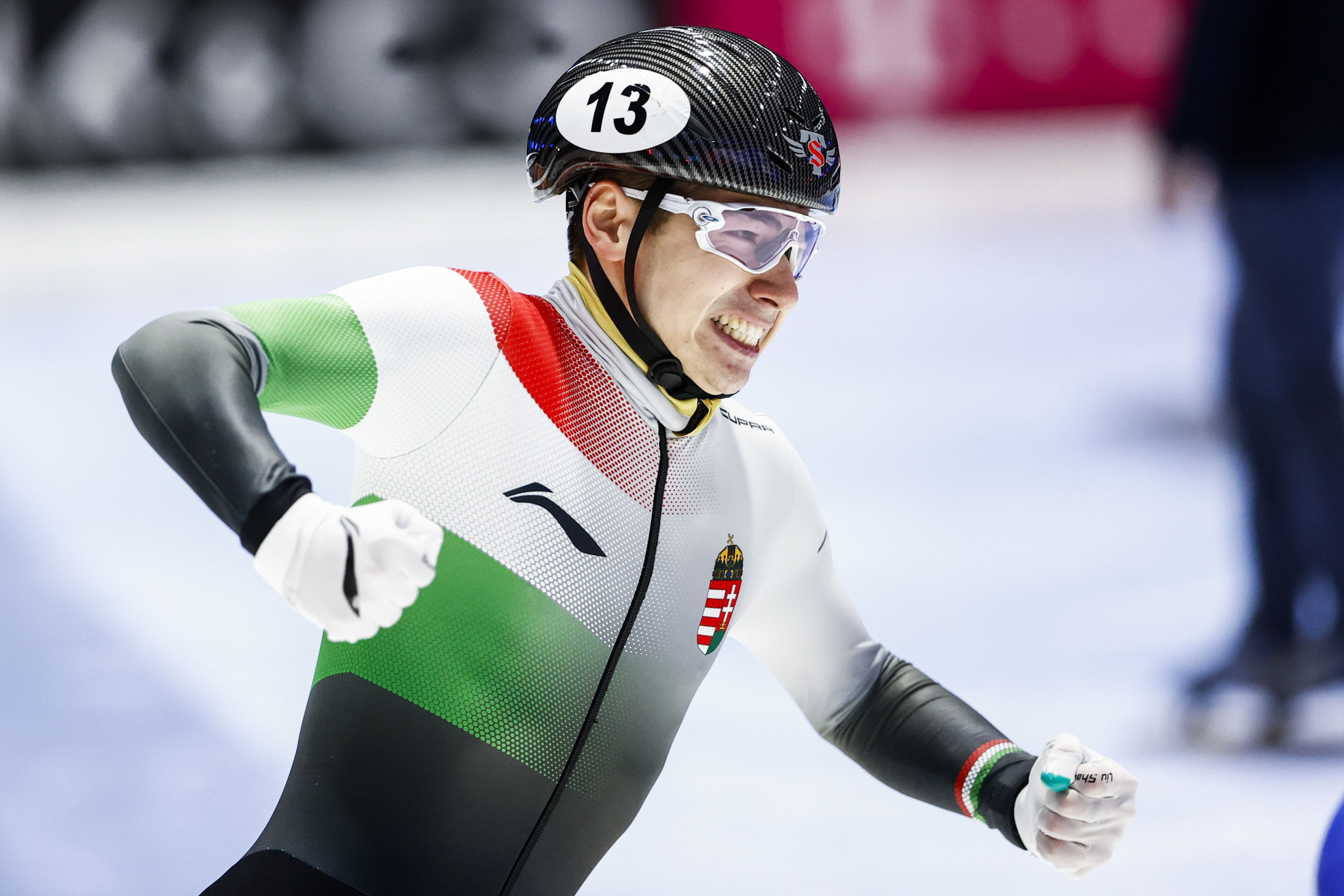 Hungary's Shaoang Liu was crowned the overall men's champion ©Getty Images