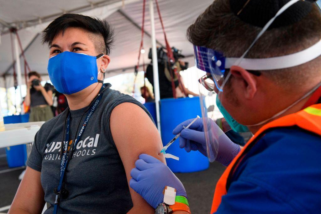LA Rams players open COVID-19 vaccination centre at SoFi Stadium