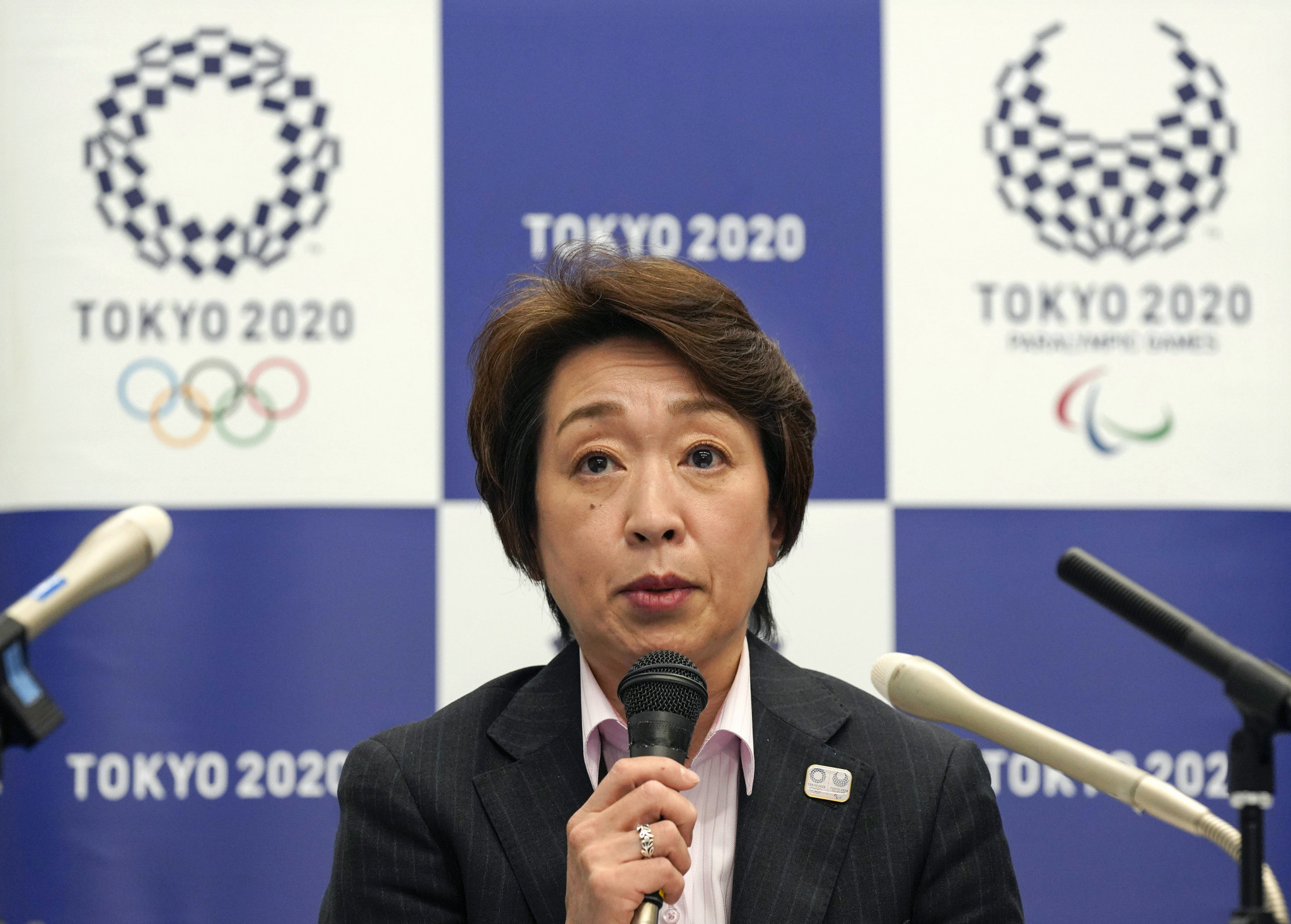 Hashimoto Seiko was appointed Tokyo 2020 President last month after a sexism row ©Getty Images