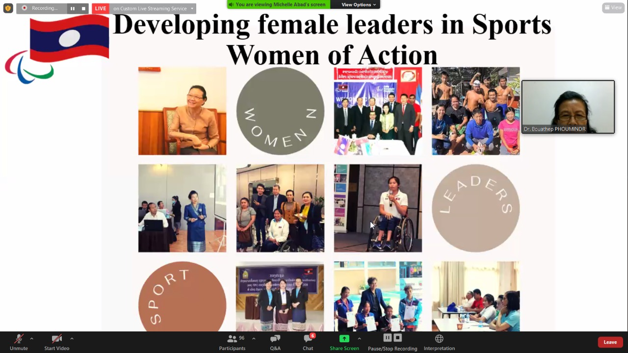 APC discusses efforts to increase female participation in Para sport during seminar