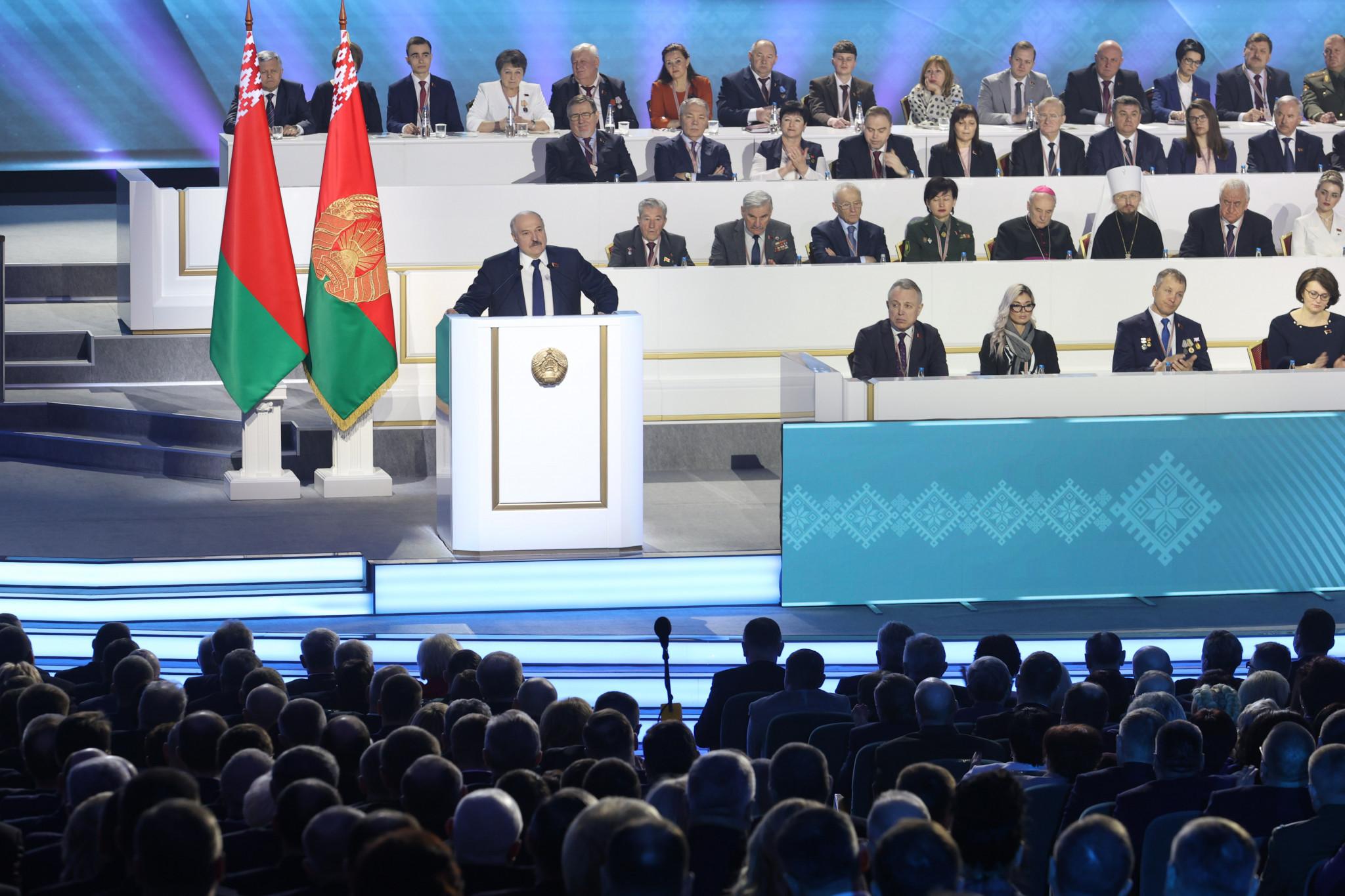 Viktor Lukashenko succeeded his father Alexander, the Belarus President ©Getty Images