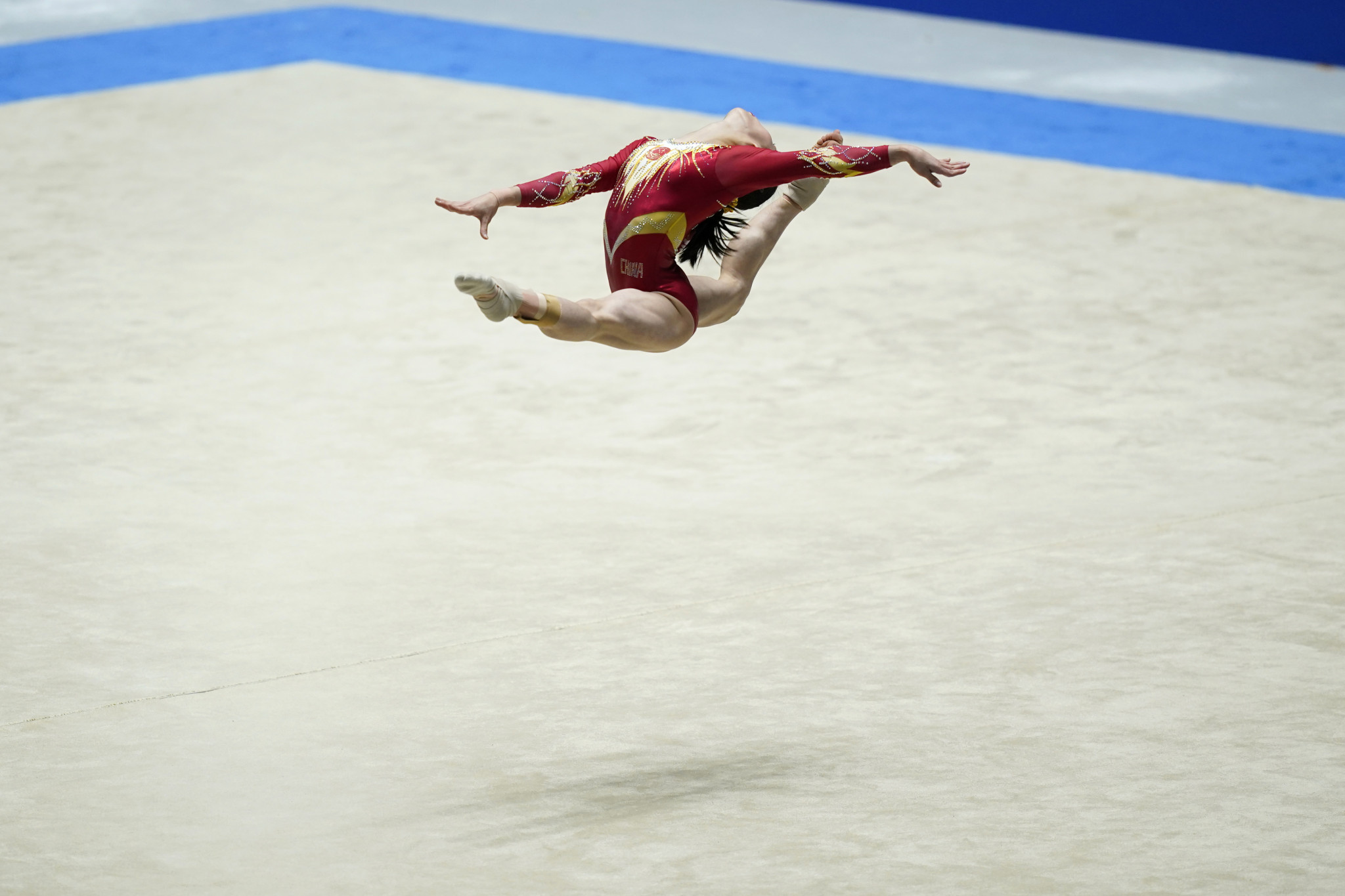 Tokyo staged the Friendship and Solidarity gymnastics competition in November ©Getty Images