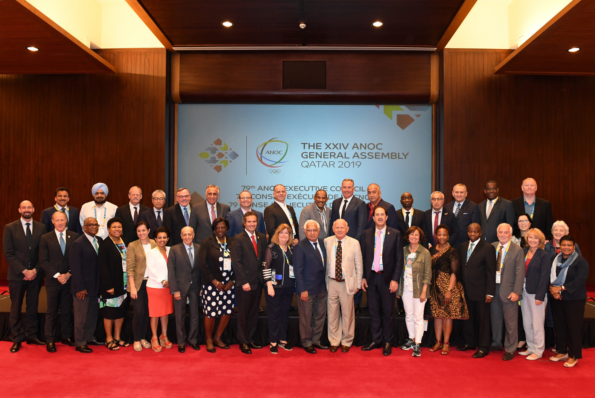 This year's ANOC General Assembly will consider constitutional change proposals including a minimum of 30 per cent female representation on the ANOC executive committee ©Getty Images