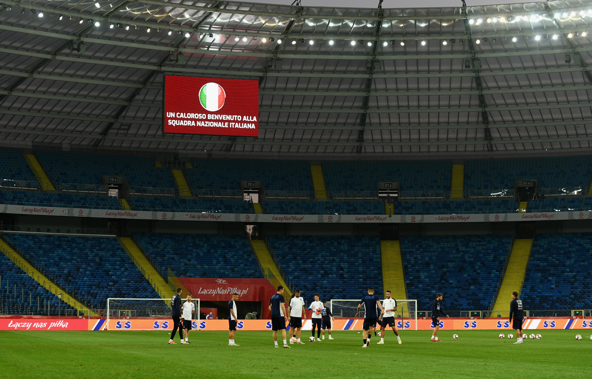 The Silesian Stadium - one of the venues for UEFA Euro 2012 - is penciled in to host athletics at the 2023 European Games ©Getty Images