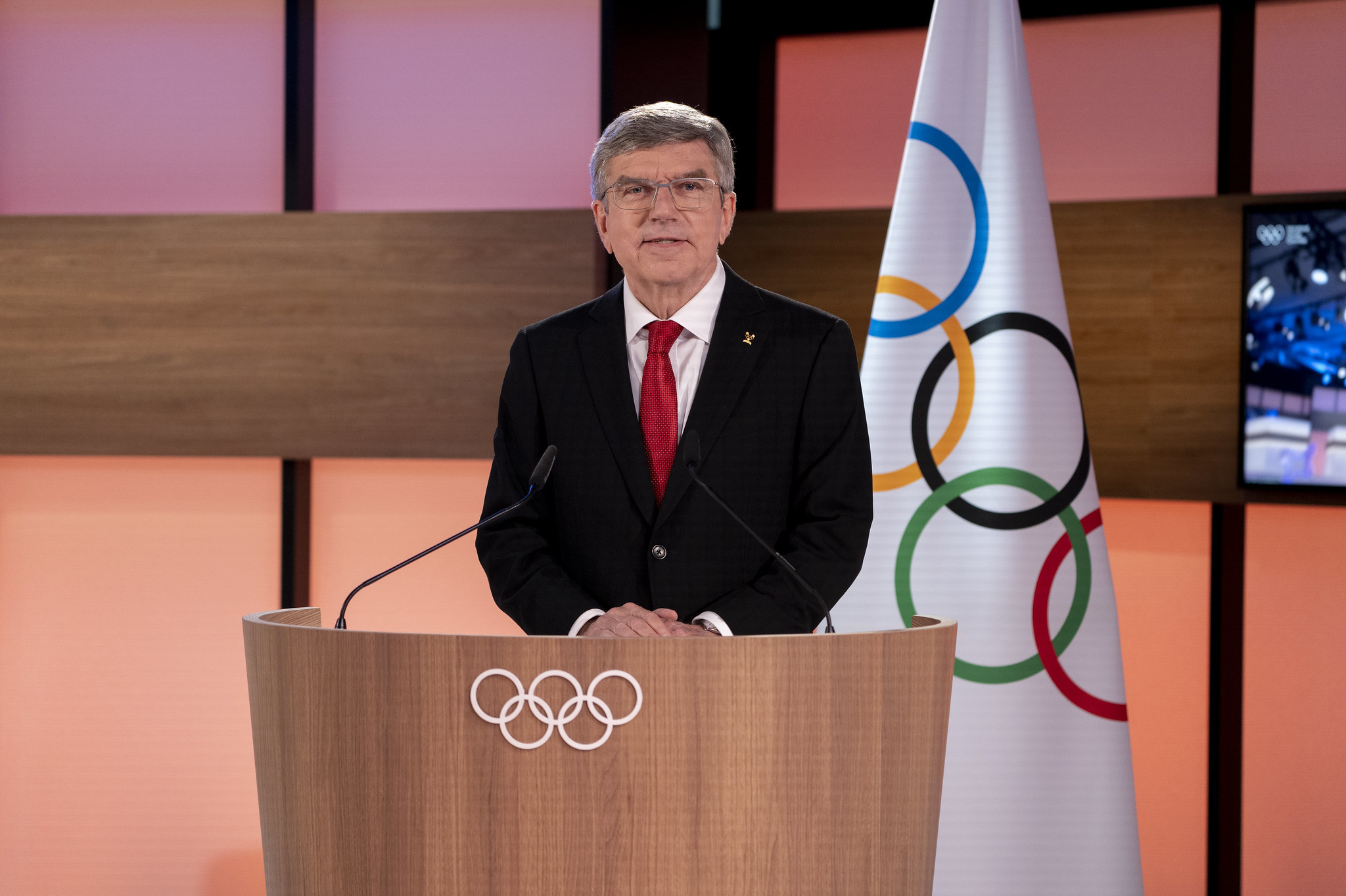 Thomas Bach has been re-elected President of the IOC ©IOC