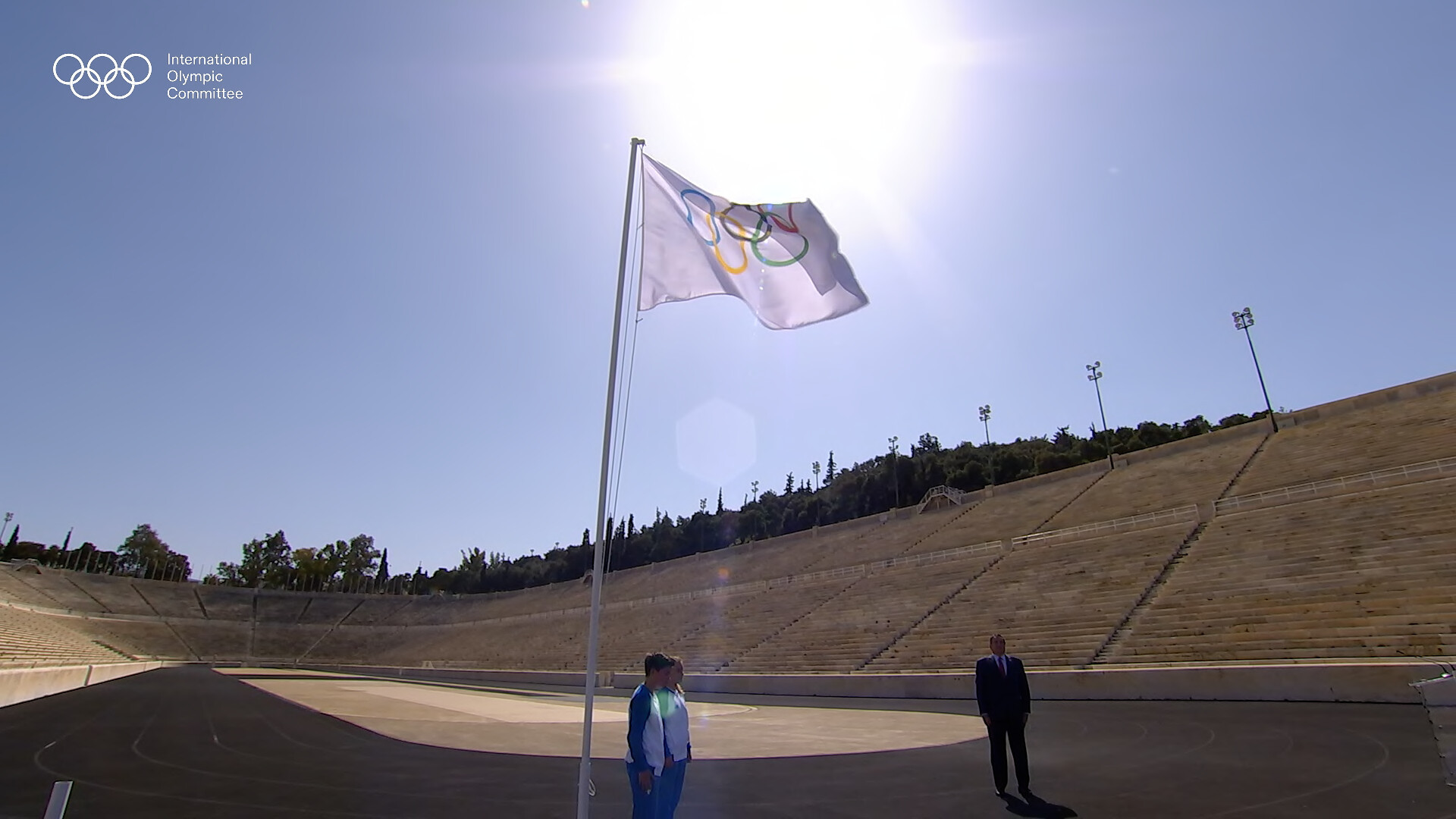 The second virtual IOC Session was opened in Athens, where it had been due to take place ©IOC
