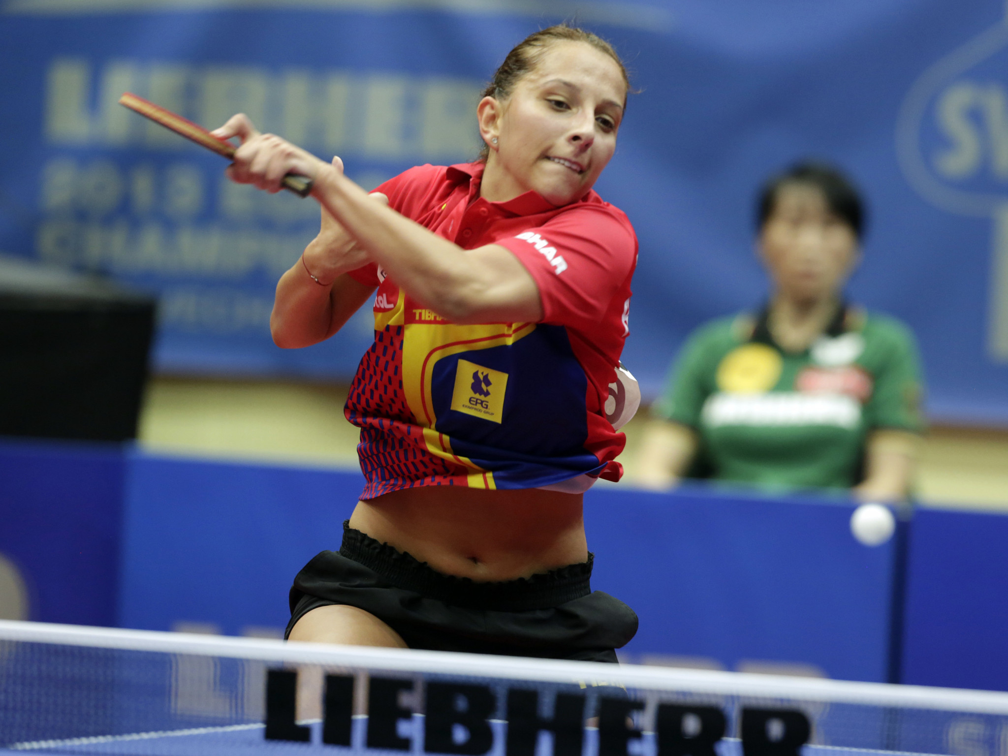 Elizabeta Samara of Romania, the world number 34, caused an upset at the WTT Star Contender today as she knocked out third seed Kasumi Ishikawa ©Getty Images