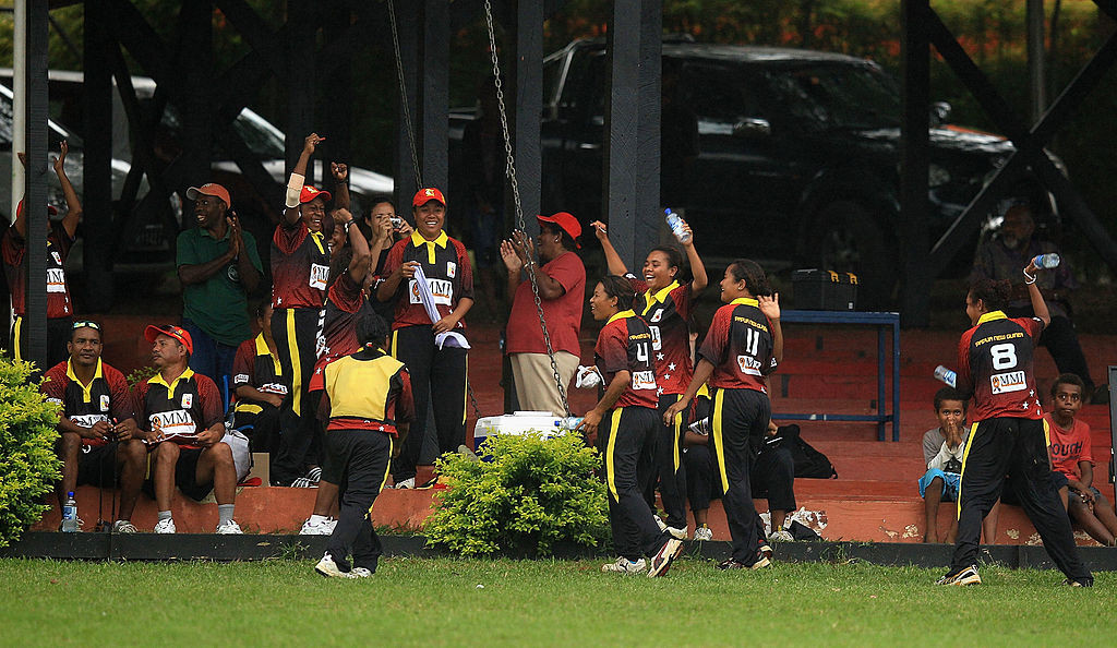 Papua New Guinea's women's cricket team have contributed to the nation's sports success on the field, while top female administrators have shaped PNG sport off the field ©Getty Images