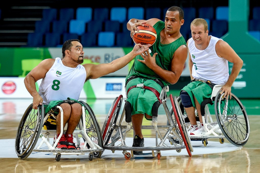 Brazil is targeting a top five position on the medals table at the Rio 2016 Paralympics ©Getty Images