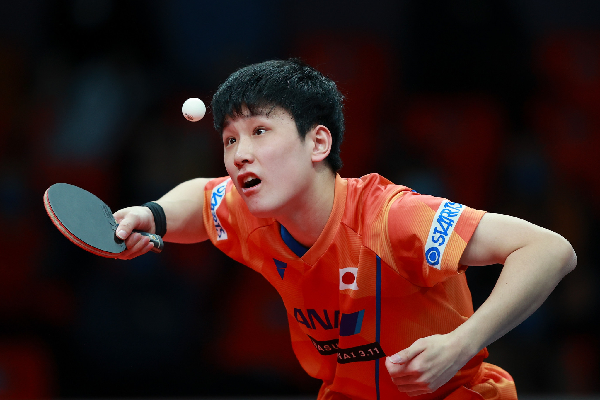 Tomokazu Harimoto will compete in the men's singles final tomorrow where he will face German Ruwen Filus ©Getty Images